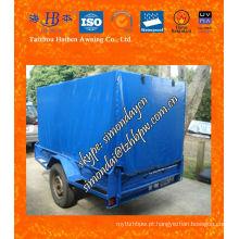 Impermeável PVC Trailer Cage Cover Azul Fabricante