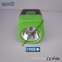 Новый IP68 2.8ah CREE LED Mining Hard Hat Lamp