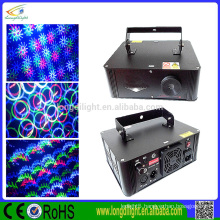 New product RGB full color animation grating laser light