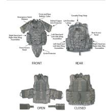 Protección completa de aramida armadura para defensa