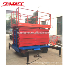 Electric hydraulic scissor lift platform