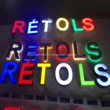 Пользовательские светодиодные буквы настенные знаки оптом