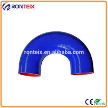 High Temperature Flexible Auto Silicone Hose / Silicone Elbow Rubber Hose