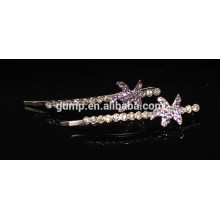 Star Shape 2015 Fashion Crystal Bobby Pin Rhinestone Barrette