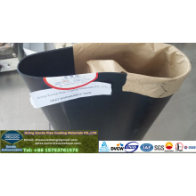 Manche adhésive thermofusible