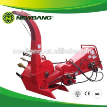 best selling tractor mounted wood chipper with hydraulic feeding BX62R