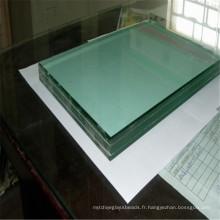 Verre de miroir stratifié décoratif de flotteur de 6mm pour le verre de fenêtre