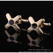 VAGULA New Enamel Gold French Cuff Links