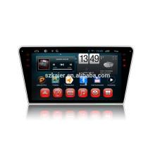 Kaier usine -Quad core -Full tactile android 4.4.2 dvd de voiture pour Peugeot 408 + 1024 * 600 + lien mirrior + TPMS + usine directement