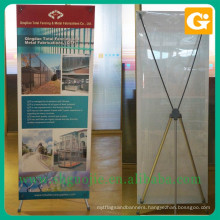 X Banner Stand / Standing Poster adjustable