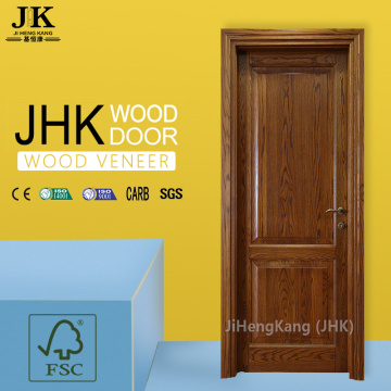 JHK Natural Teak Moulded Interior Door