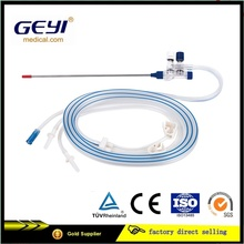 Push Type Disposable Laparoscopic Suction and Irrigation Tubing Sets with CE