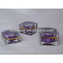 15ml 30ml 50ml Green Cosmetic Decorativas Jarrones Decorativos