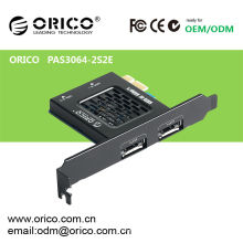 Tarjeta Express PCI-E SATAIII con función de herramienta de alta velocidad