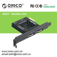 SATAIII PCI-E express card com função de alta velocidade livre de ferramentas