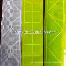 Fita de PVC reflexiva em diferentes padrões
