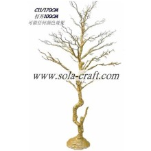 Purchasing for Artificial Dry Tree Branch Shopping Wedding Artificial Tree With 120CM For Hanging Beaded Garland supply to Bermuda Supplier