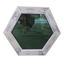 janela redonda upvc fixa com alta qualidade no preço de fábrica