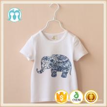 2015 moda por atacado personalizado bebê crianças t-shirt