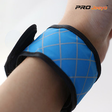 LED Night Vision Oxford Fabric Blue Plaid Armband