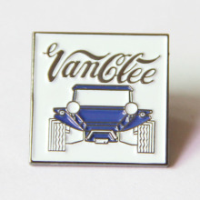 Souvenir Enamel Lapel Pin med Nickelplating