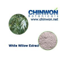 Fuente directa de la fábrica Extracto blanco del sauce 98%