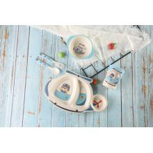 helicopter shaped baby feeding dinnerware set