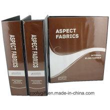 """Impresión personalizada del logotipo 3 """"Carpeta de archivo de PVC con 4 D Binder"""