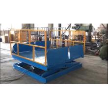 Le fournisseur de la Chine offre la plate-forme stationnaire hydraulique d'ascenseur de cargaison d'entrepôt de plate-forme de ciseaux de la CE