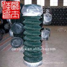 Clôture en caoutchouc en plastique et clôture en liège enroulée en vinyle et clôture en chaîne de calibre 9