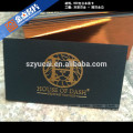 professional printing business card , brown paper business cards