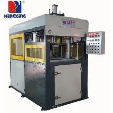 Thick plastic sheet vacuum forming machine