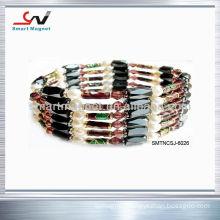 fashion Polishing wrap hematite Magnetic necklace
