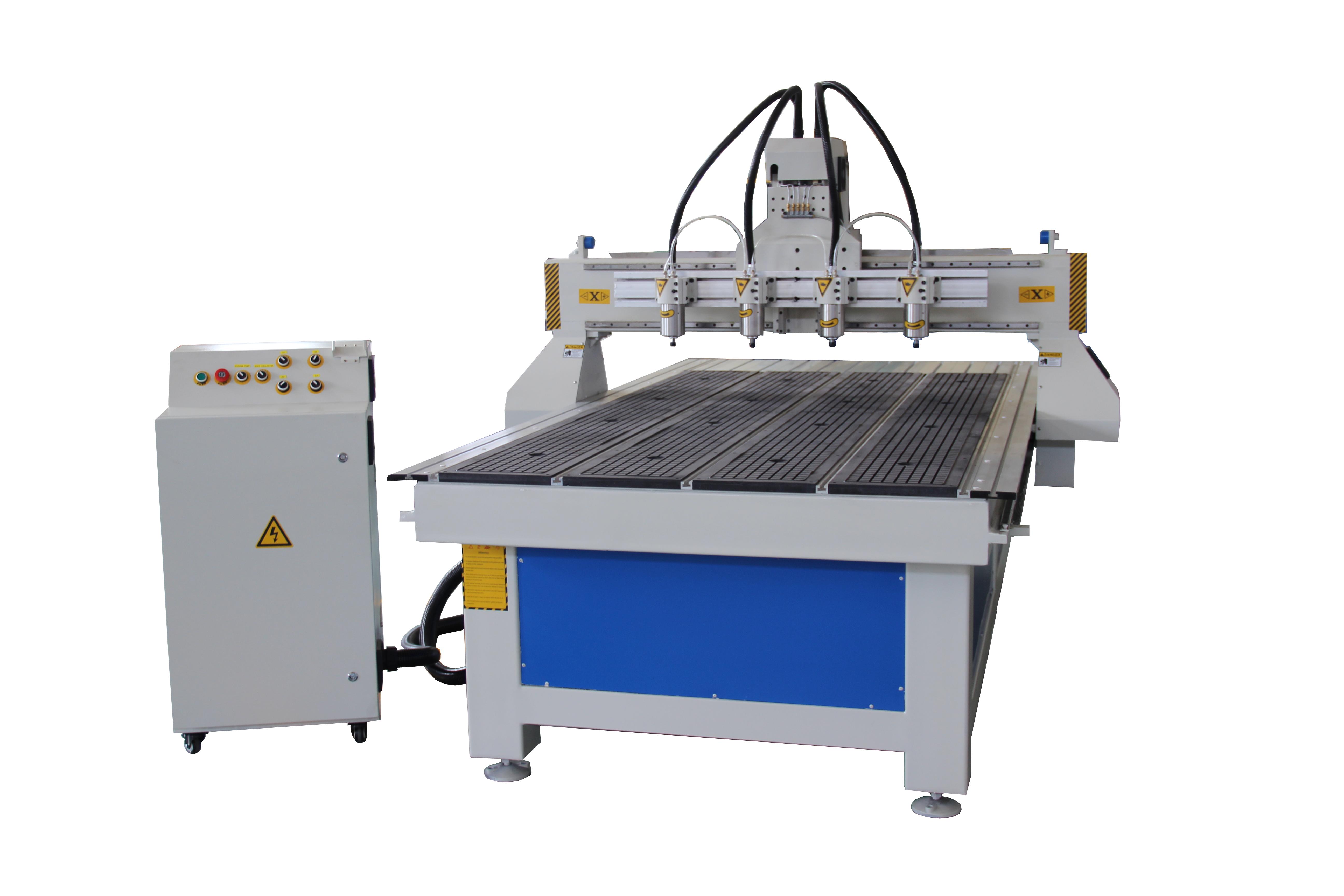 4 spindles machine