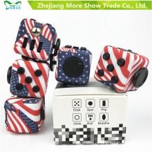 Magic Fidget Cube Adulte Stress Relief Bureau Jouer Jouets Cadeau spécial pour les enfants adultes