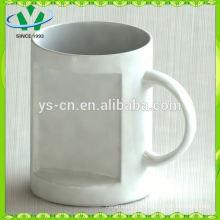 Taza de café de cerámica de la venta caliente al por mayor, tazas baratas de la sopa