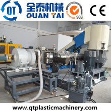 Ml100 residuos PP película de plástico de pellets máquina de hacer / reciclaje de la máquina