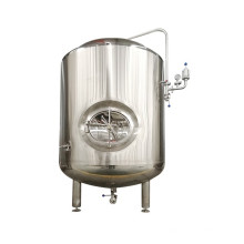 1000L stainless steel brite tank for storing beer with outlet
