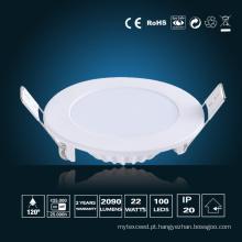 Φ de luz de painel de LED 22W 240 * 16mm
