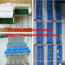 Poudre lyophilisée de peptide PT-141 Bremelanotide 10mg / Vial de renforceur sexuel