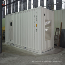1500kVA Super Soundproof Container Gerador Diesel com Free-Maintainace bateria