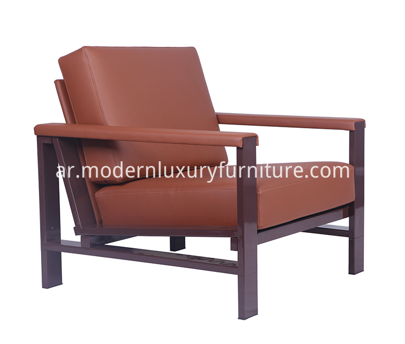 Armchair-Version-of-Strong-Metal-Frame-Sofa