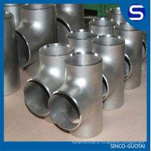 aço inoxidável 45 graus lateral tee / aço inoxidável reduzindo tee
