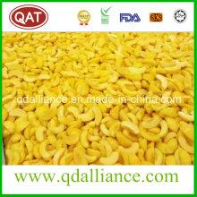 Top Quality IQF congelado en rodajas de melocotón amarillo