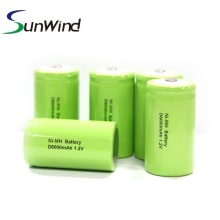 1.2v D size Rechargeable Ni-Mh battery 8000mah