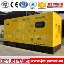 Grupo de gerador diesel silencioso posto pelo motor de Doosan