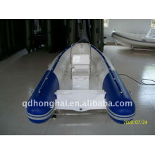 rib420 ce fiberglass rigid boat with motor 30hp