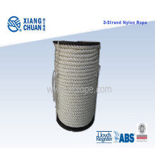 3 Strand Nylon Rope with Plastic Reel