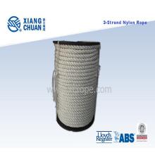 Corda de nylon de 3 cordas com carretel de plástico