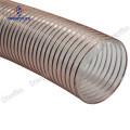 Non twist pu steel wire dust collection hose